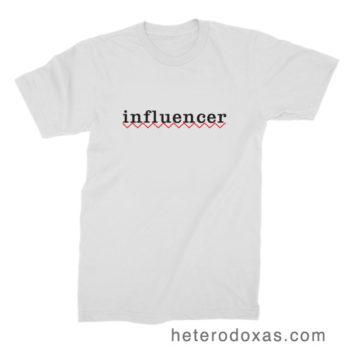 influencer camiseta
