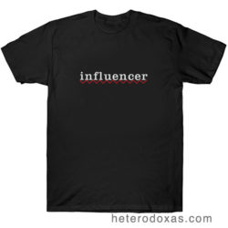 influencer camiseta