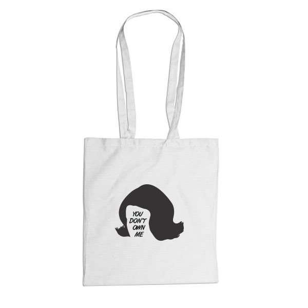 You don't own me -tote bag-
