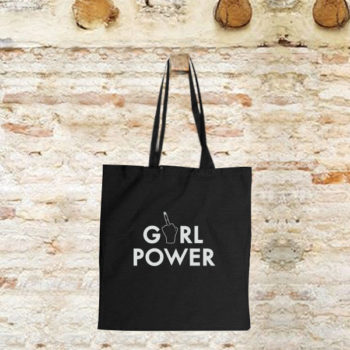 Girl Power -tote bag-
